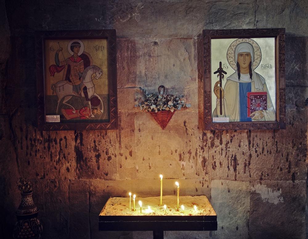 Jvari Monastery Interior
