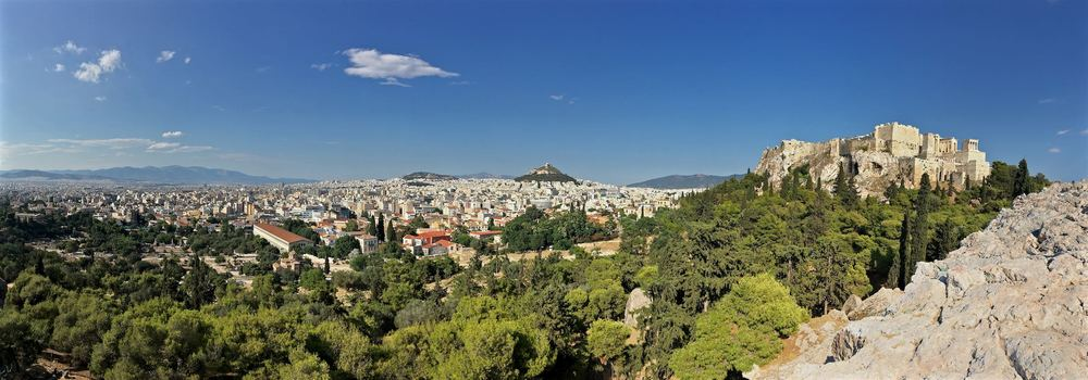 Panorama from the Areopagus Hill