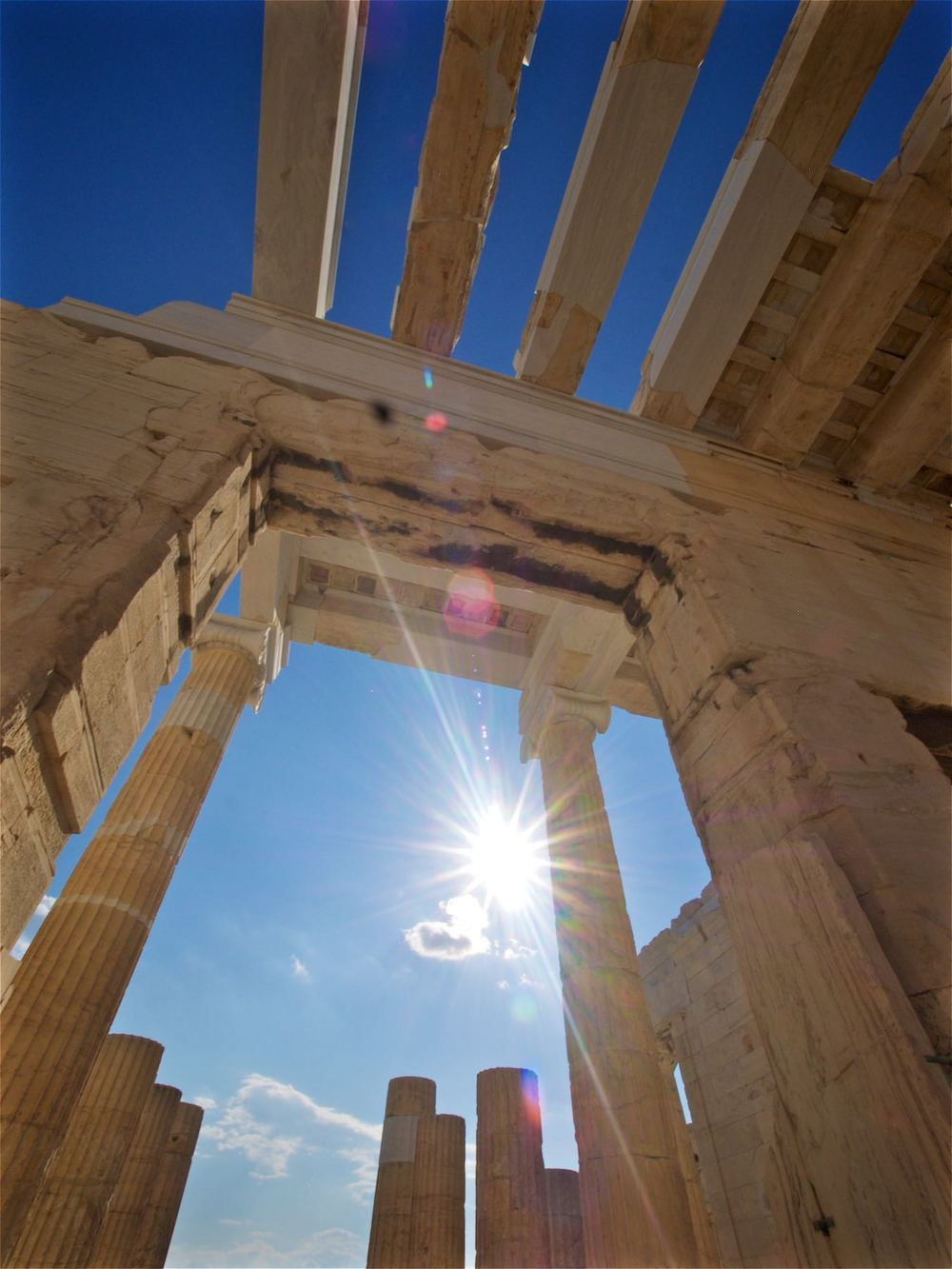 Acropolis Sunrays