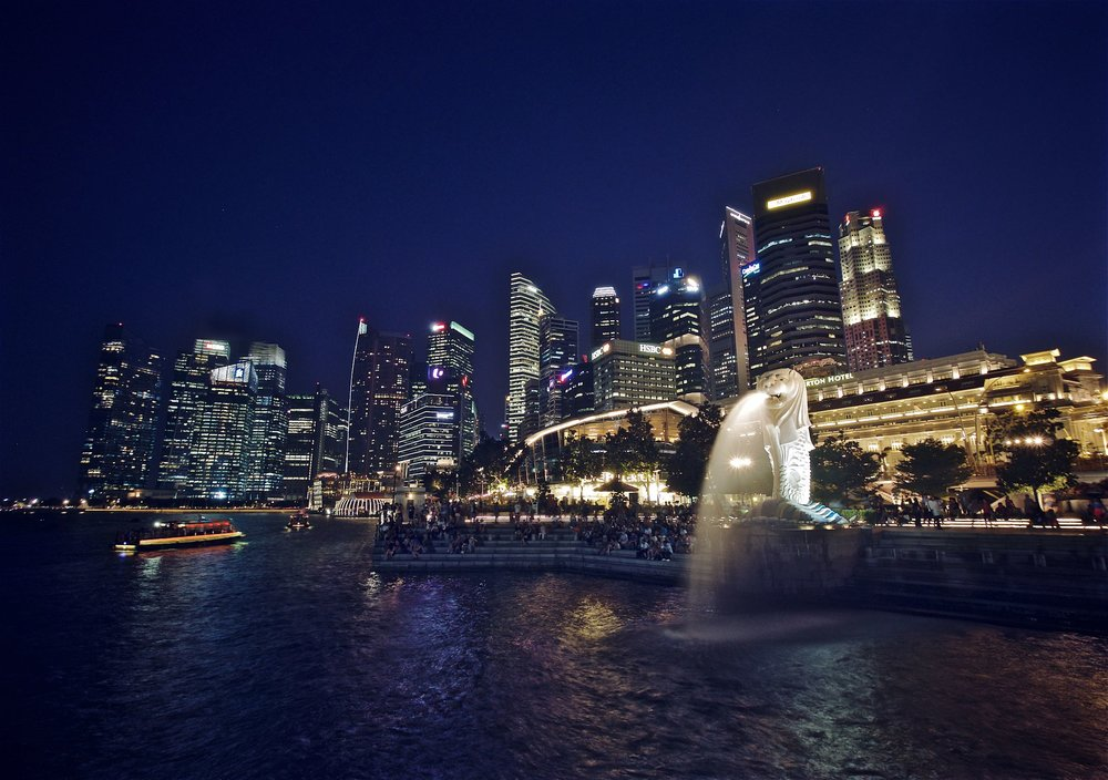 Downtown Core & Merlion