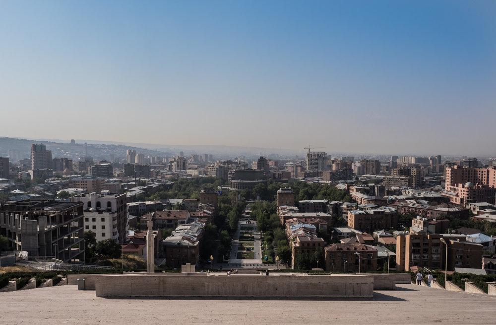 Views over Yerevan