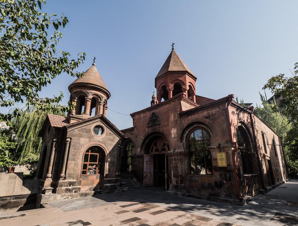 Zoravor Surp Astvatsatsin Church