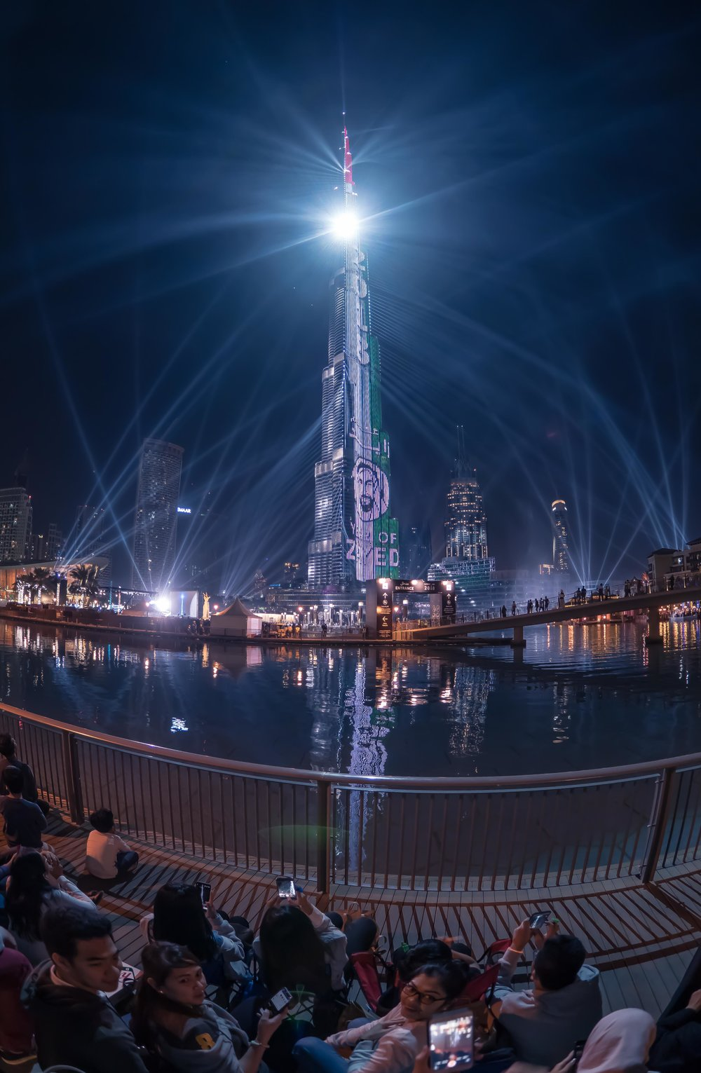 Downtown Dubai - LightUp2018
