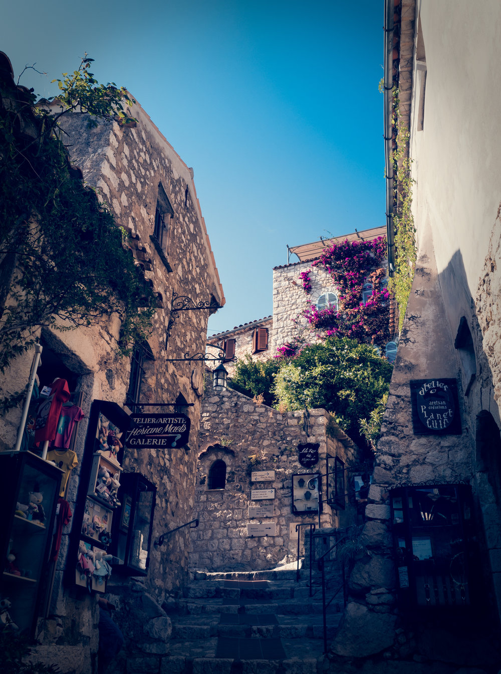 Eze's medieval town