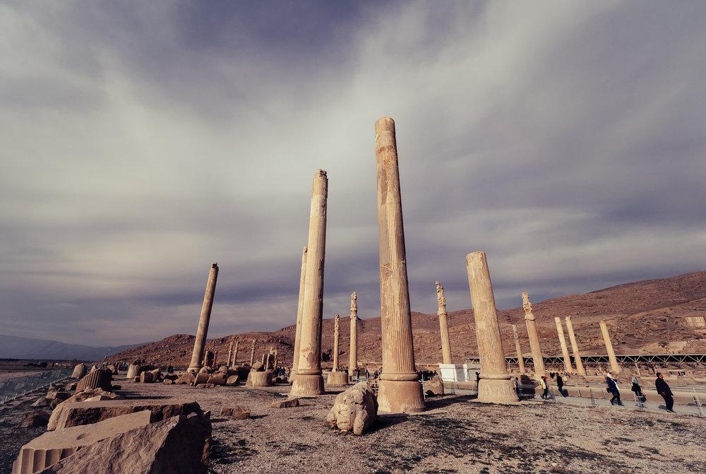 Ruins of the Apadana