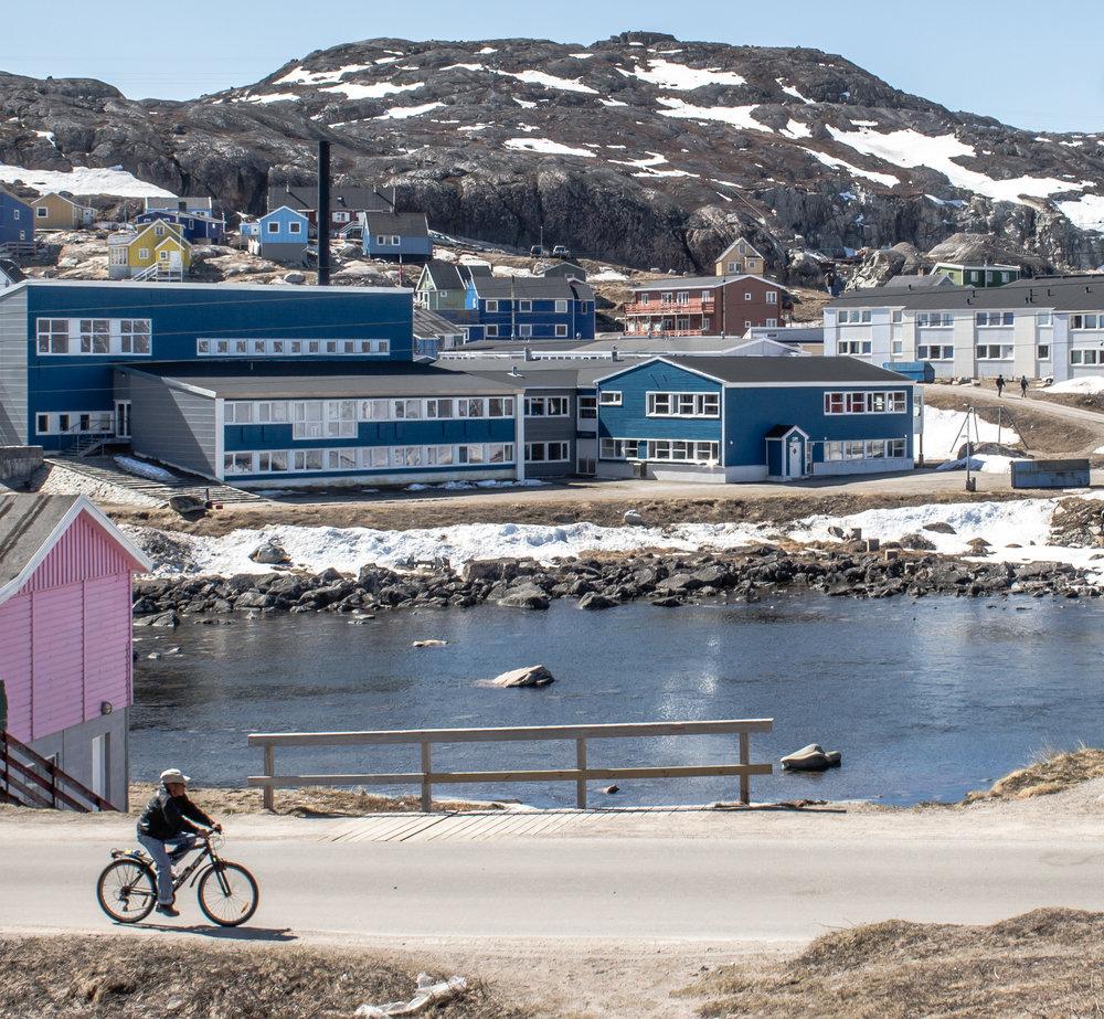 Qaqortoq, Greenland.
