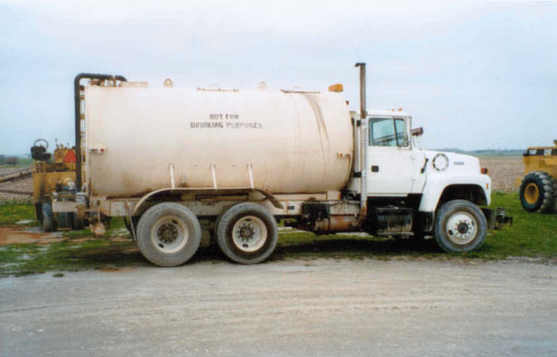 This is the water truck used the day of this incident.