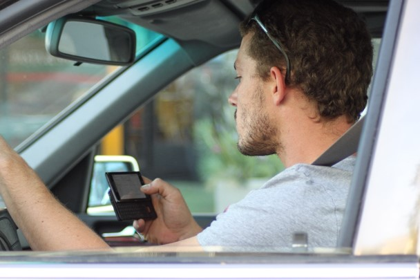 Drivers who are texting take their eyes off the road for an average of 5 seconds. Driving at 55 mph, that is about the length of a football field.
