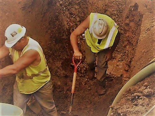 Image result for workers in the trenches t