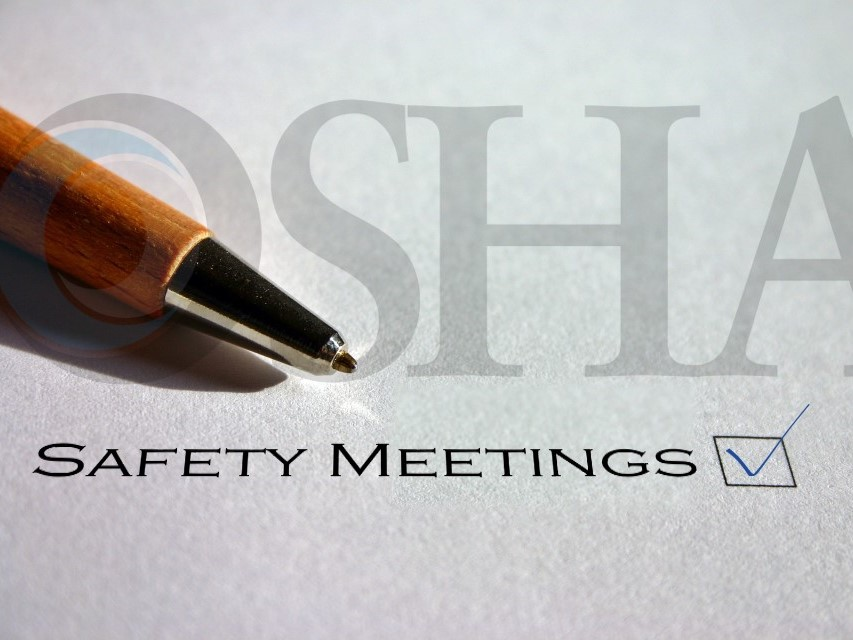 OSHA Safety Meeting Requirements — Weeklysafety com