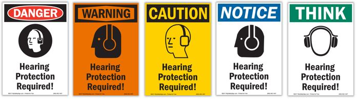 Safety signs from Mysafetysign.com