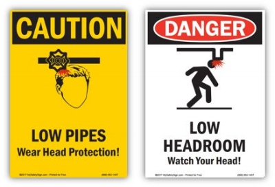 Free signs created on Mysafetysign.com