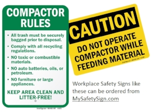 Pactor Rules Keep Area Clean And Litter Sign White Aluminum Signs 16x12