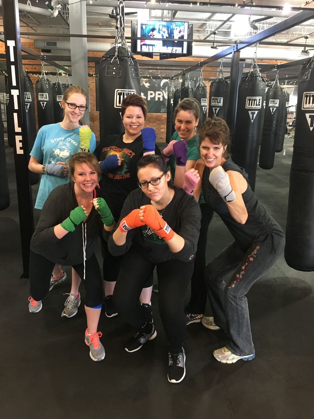 Dental Assistants in Indianapolis Going Boxing