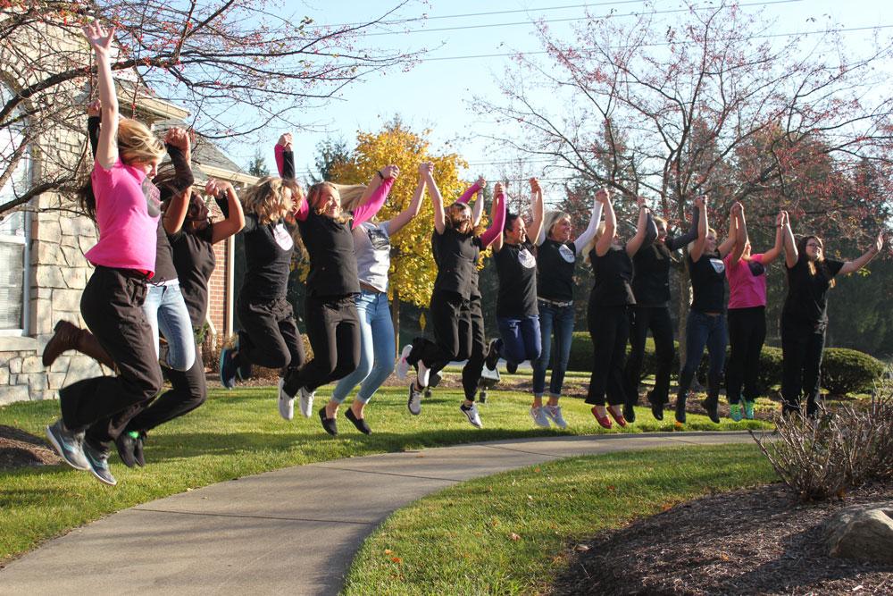 November Graduates Celebrating!
