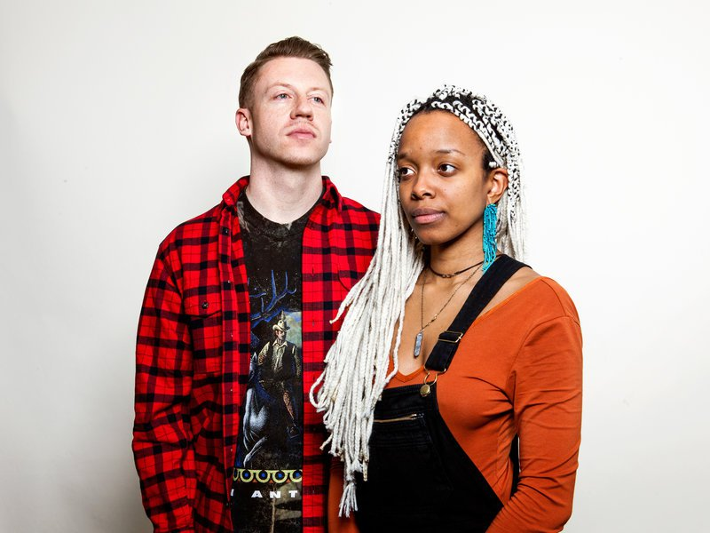 Macklemore and Jamila Woods
