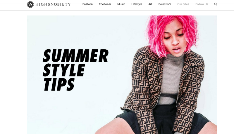 Brittany Bryd Summer Style Tips for Highsnobiety