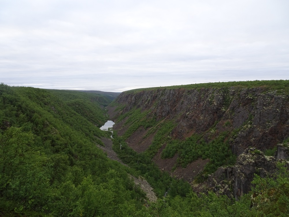 The Kevo canyon