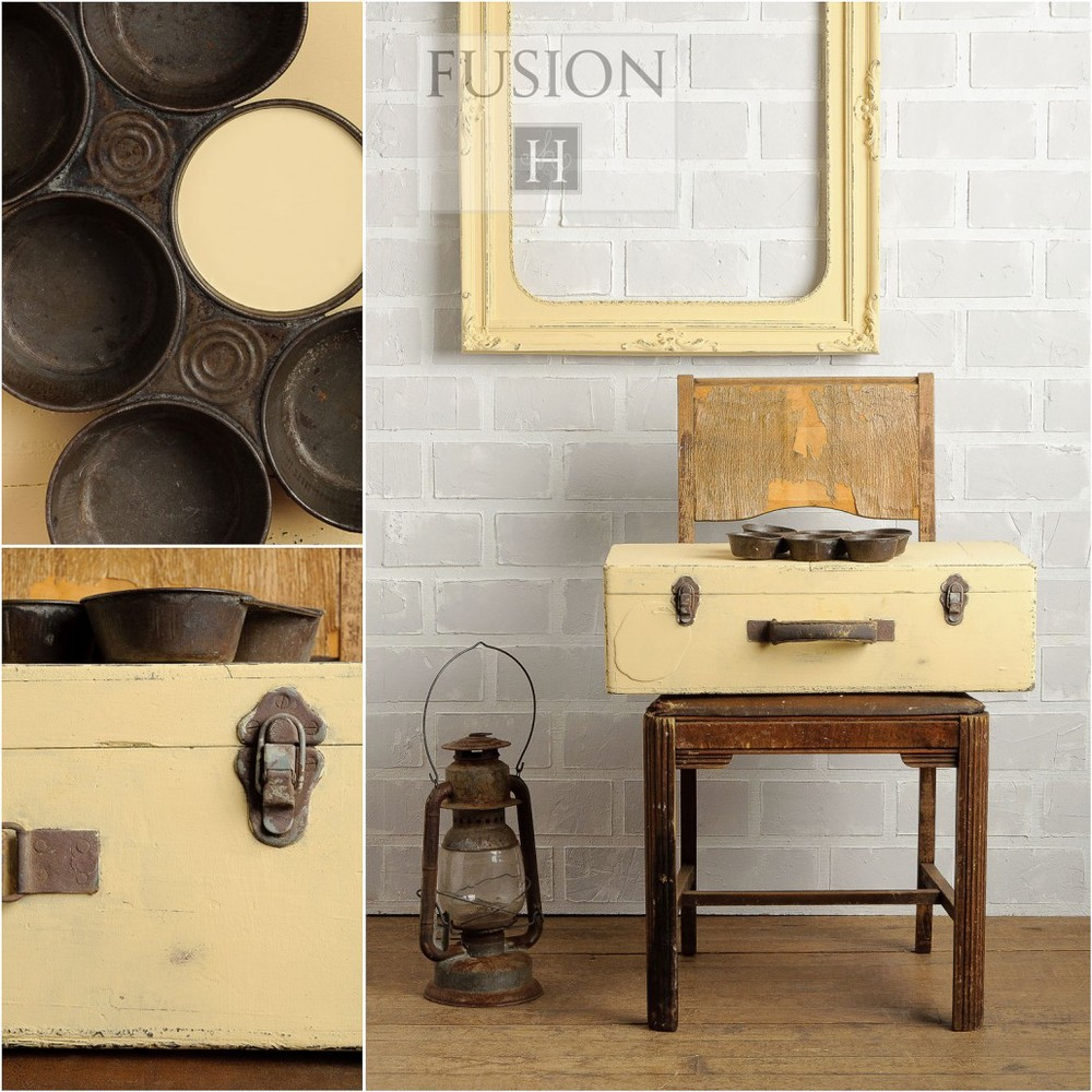Buttermilk Cream   Fusion Mineral Based Furniture Paint