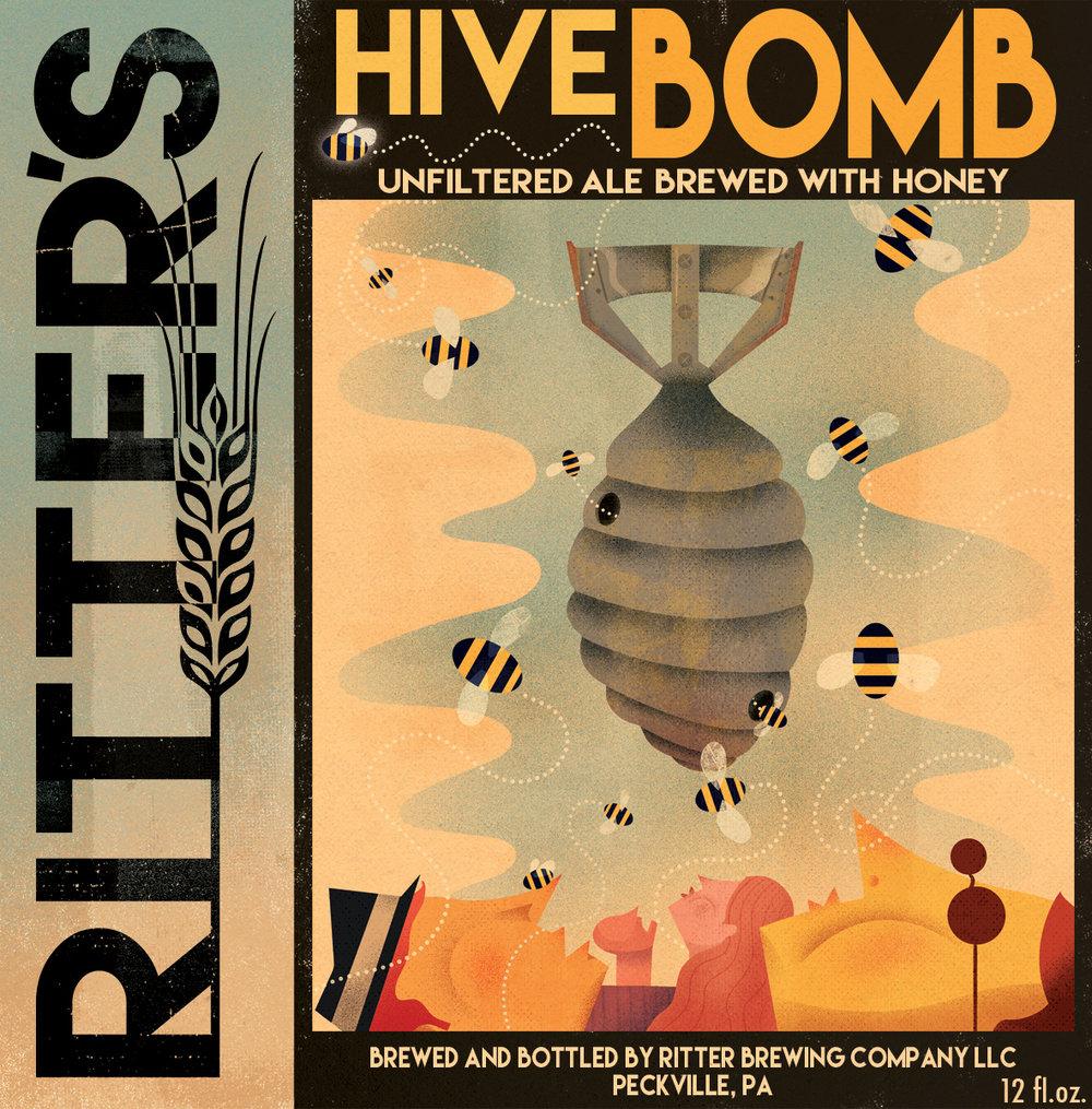 Hive Bomb - 6.3% ABV  56 IBUs  10 SRM