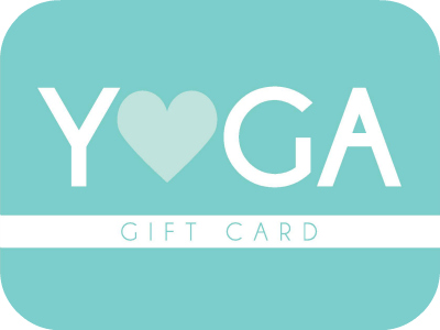 Give the gift of health! - Purchase your special someone a gift card for yoga classes, yoga workshops, and/or retail items like essential oils and yoga swag! If you have any questions, please contact the studio. Gift cards are sent electronically to your recipient or you can print off a physical gift card at your convenience.