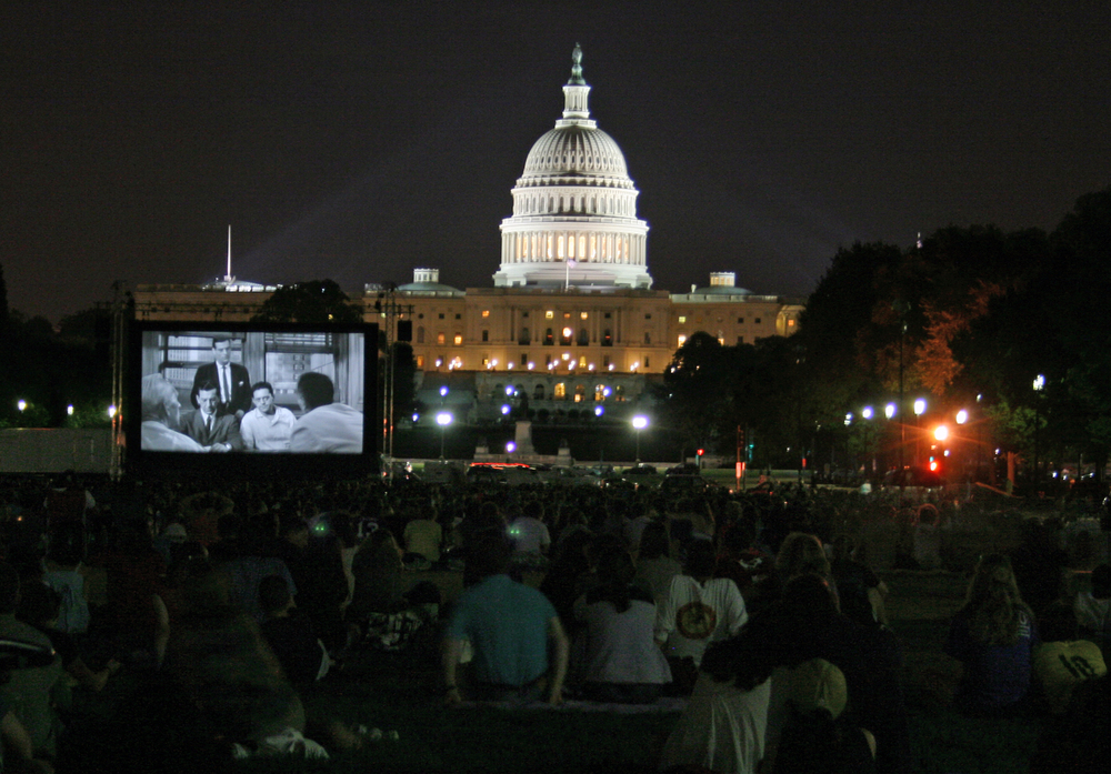 Screen on the Green movie screening, Washington, D.C.