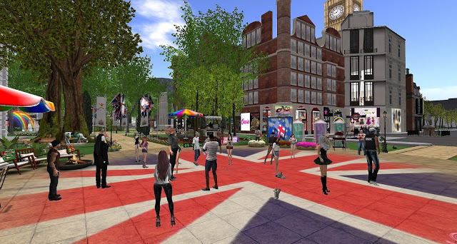 London City, Second Life