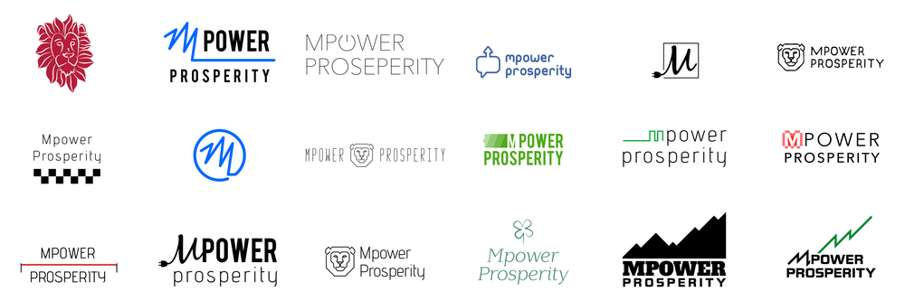 MPower Prosperity Logo exploration