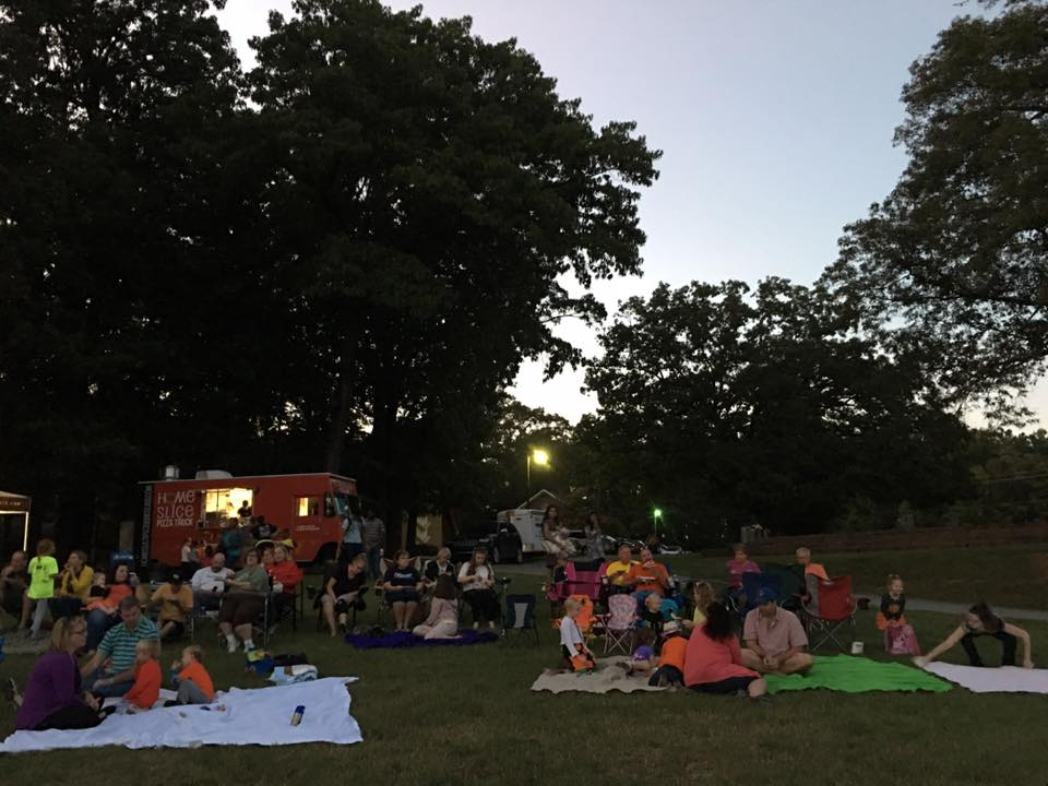 Outdoor Family Movie Night