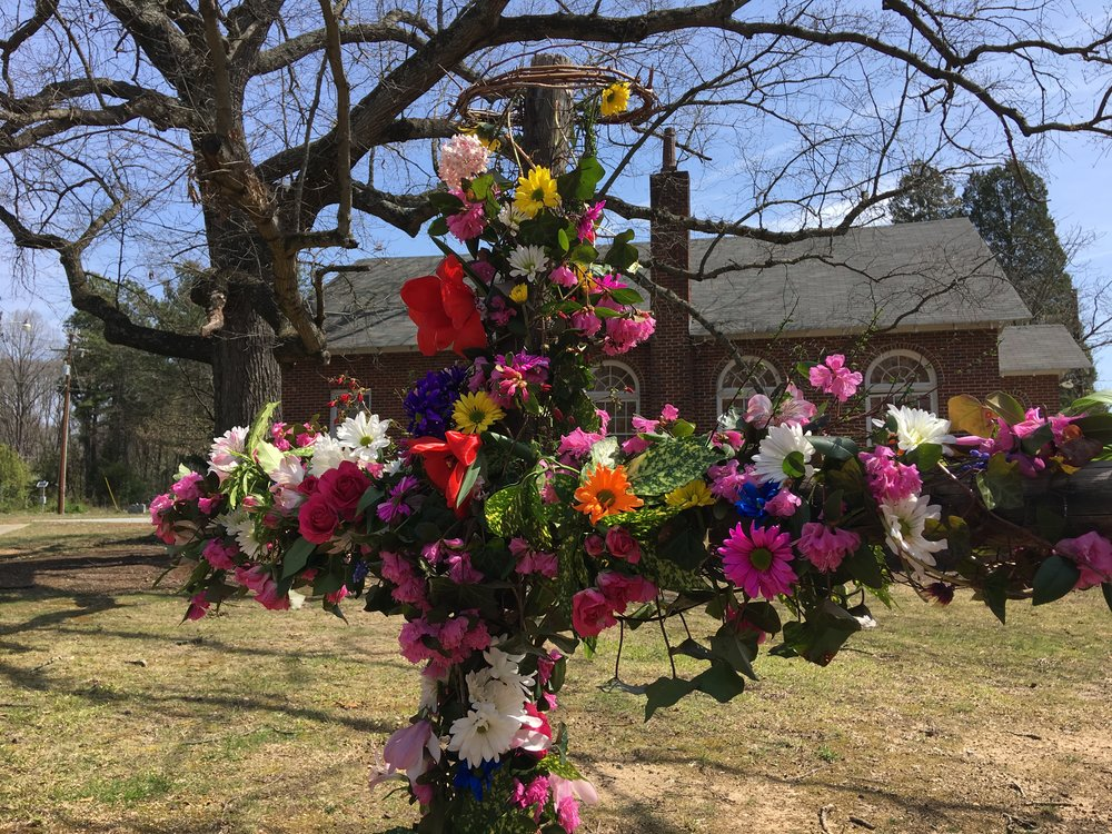 Our Easter cross