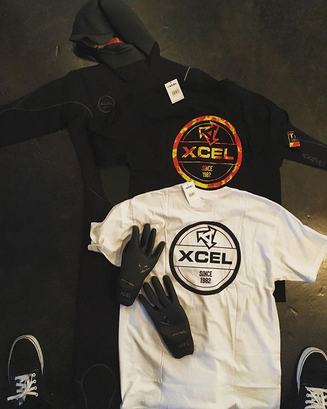 ITS GETTING COLD!! Big shoutout to @xcelwetsuits for hooking up head coach and founder @crazy_crookster with some new gear! XCEL is the best wetsuit manufacturer on the planet and is the only wetsuit Collin Crook will wear. Their wetsuits are flexible, durable, and the warmth they provide is second to none. Thank you XCEL! 😘😎🌊🏄😊 @xcelwetsuits  @chadwat  @crazy_crookster #itscold #new gear #surf #surfer #surfing #wetsuit #crookssurfessentials #sport #surfcoach #surfcoach #warmth