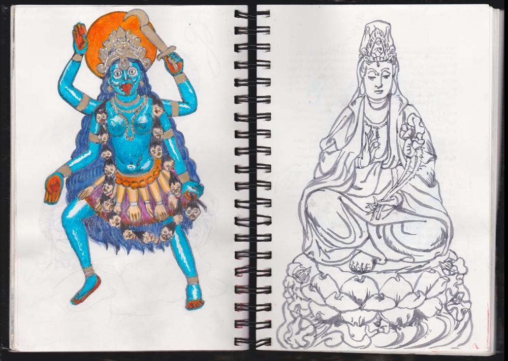 Durga and Quanyin