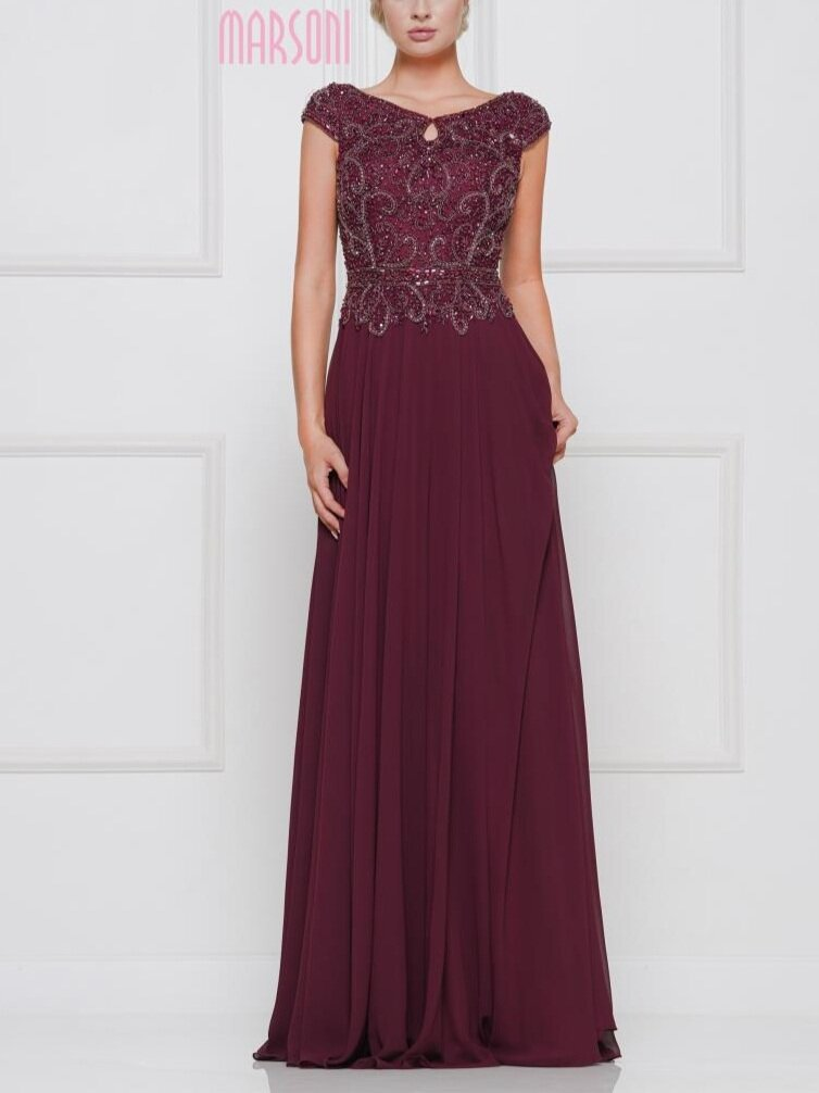 Marsoni M173    Available in sizes 4-24 in Wine, Navy, Nude and Latte