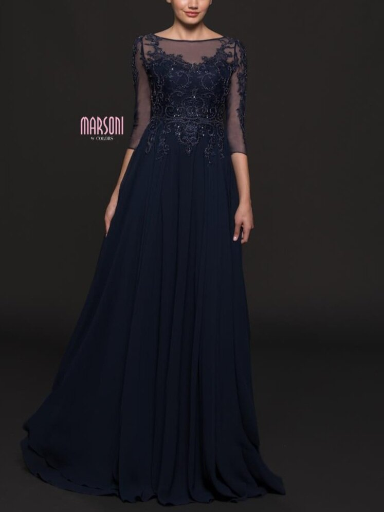 Marsoni M214    Available in sizes 6-24 in Navy, Latte and Eggplant