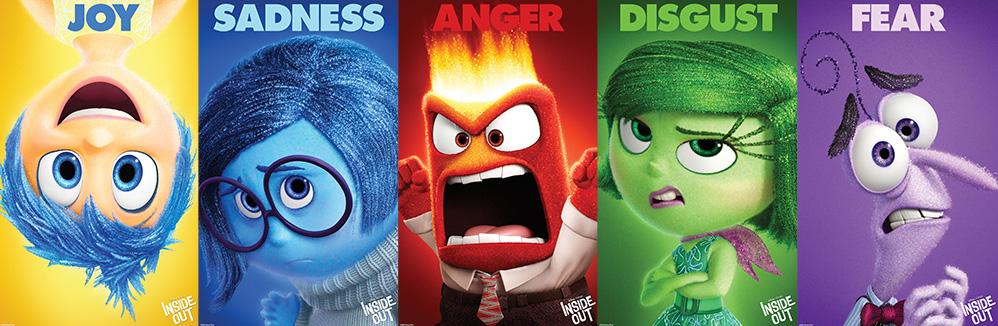 Meet the emotions inside Riley's head.
