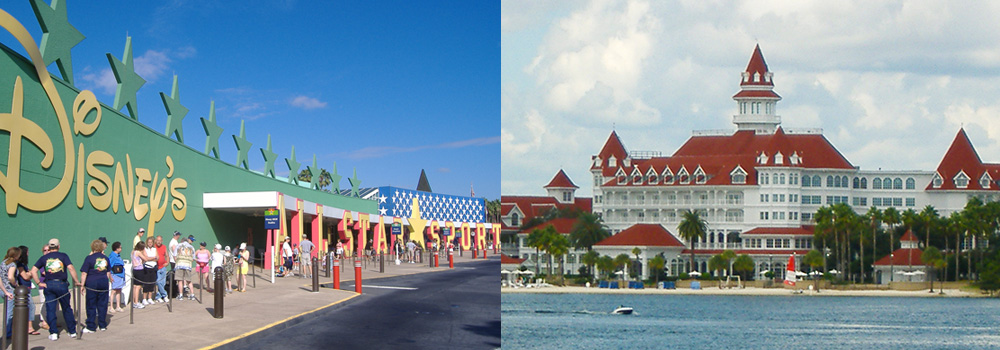 A PAST BUDGET TRIP: All Star Sports Resort A PAST SPLURGE TRIP: The Grand Floridian Resort & Spa