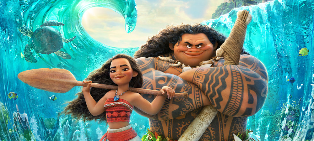 Meet island princess Moana and demigod Maui.