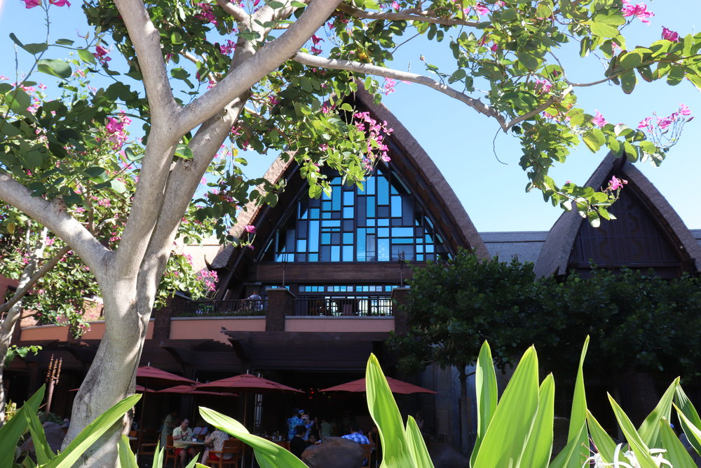 The lobby from just outside Makahiki.