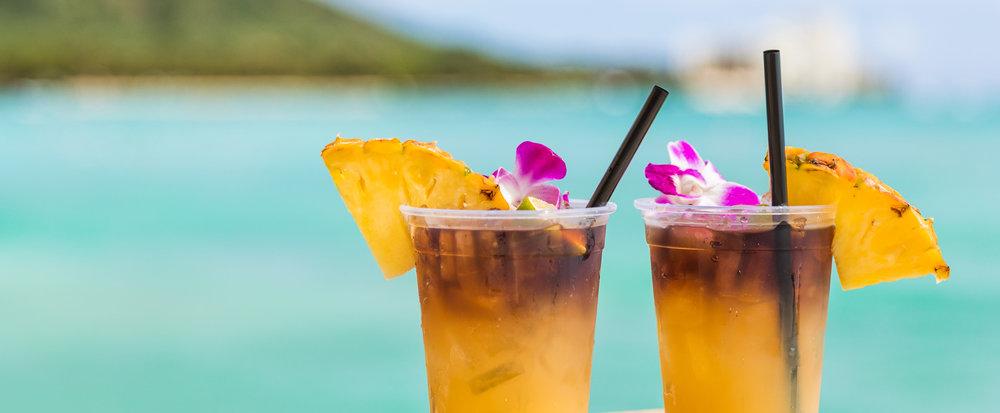 Nothing says Hawaiian vacation like Mai Tais!