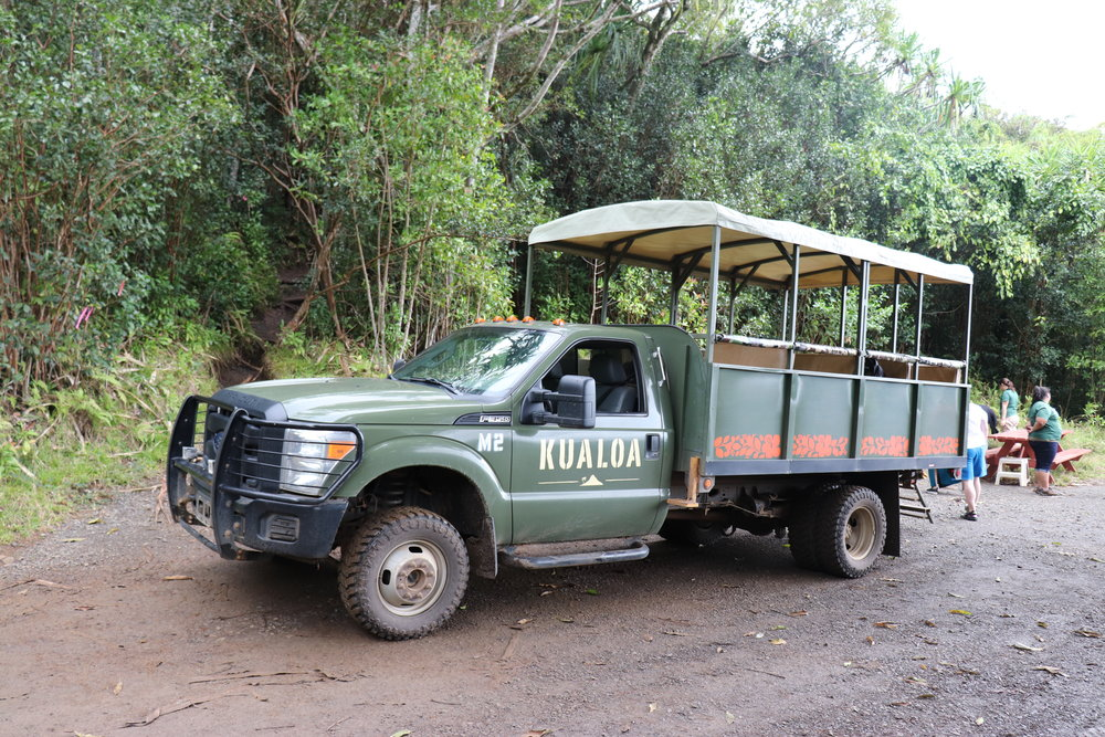 Our jungle vehicle.