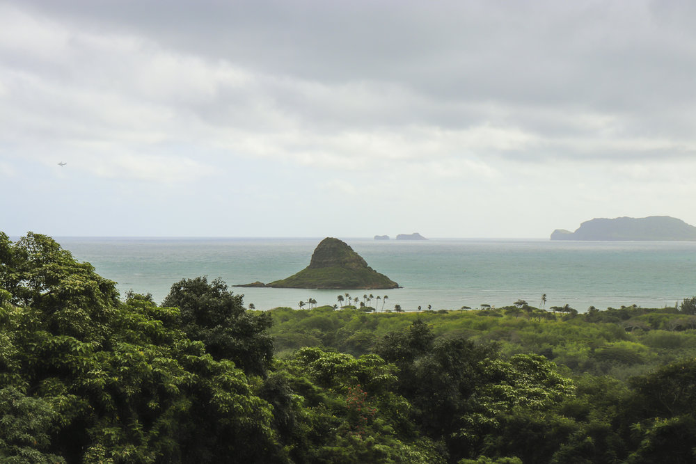 A view of China Man's Hat Island.