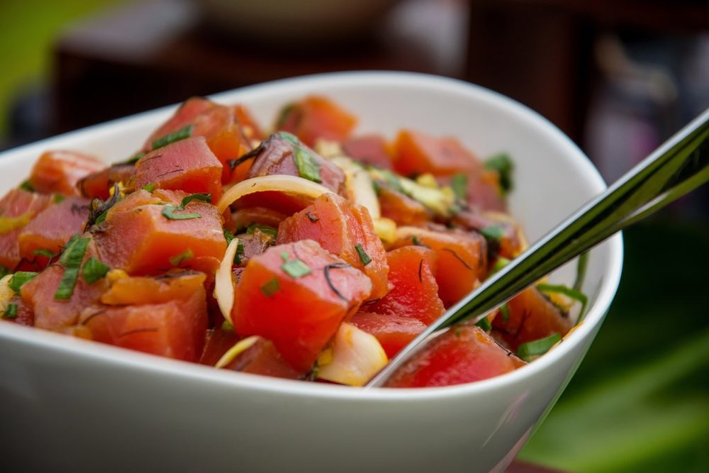 Ahi Poke Salad (Photo: Disney)
