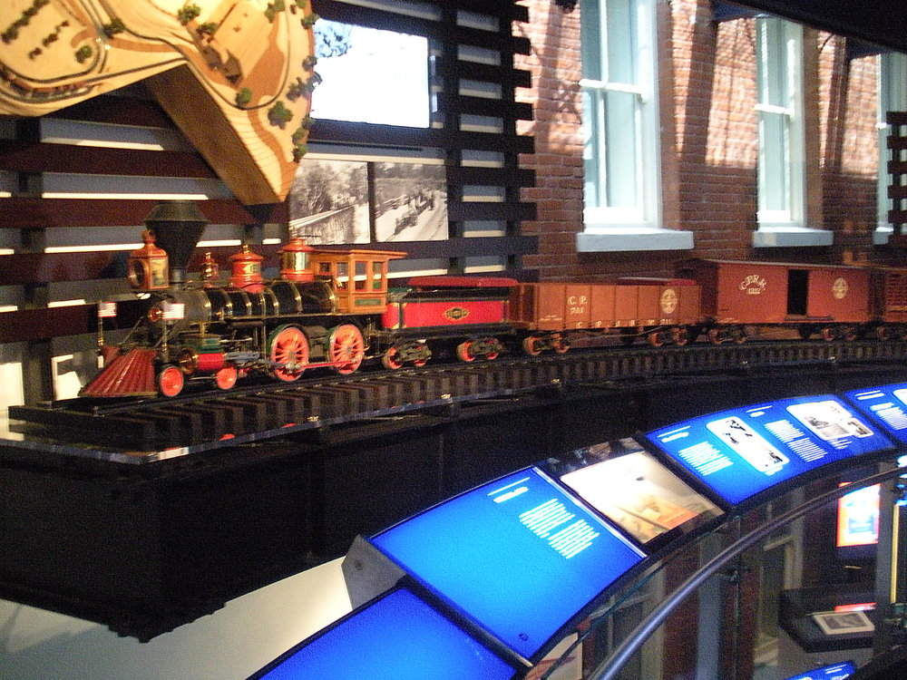 One of Walt's many collectible trains.