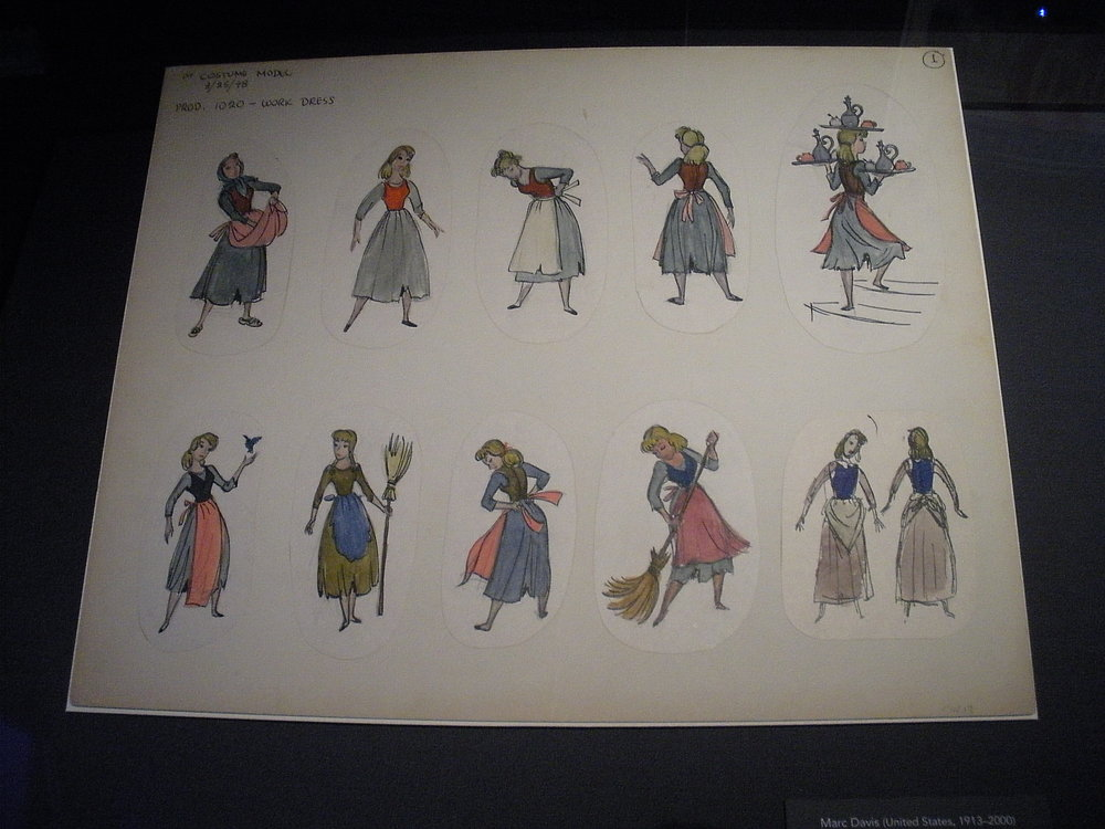 Character art from  Cinderella .