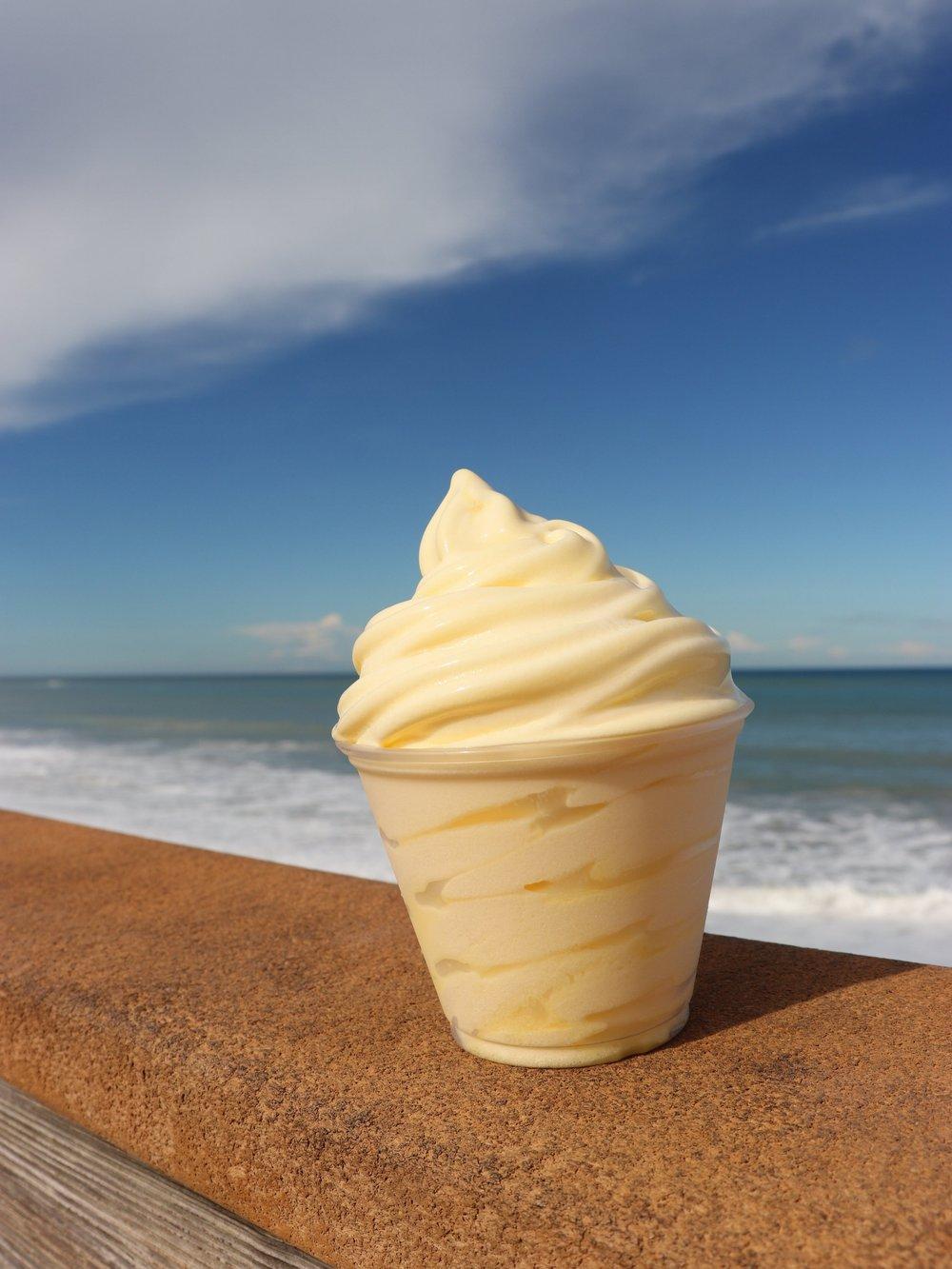 Disney Dole Whip + The Beach = Perfection