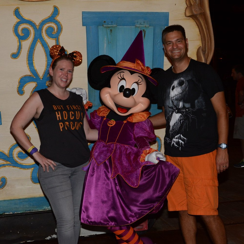Minnie was simply Bewitching!