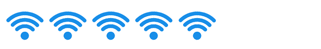 """Her rating: 5 out of 5 """"WiFi Signals"""""""