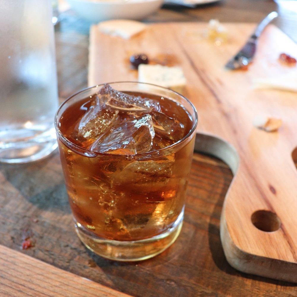 Andrew's classic Zacappa rum.