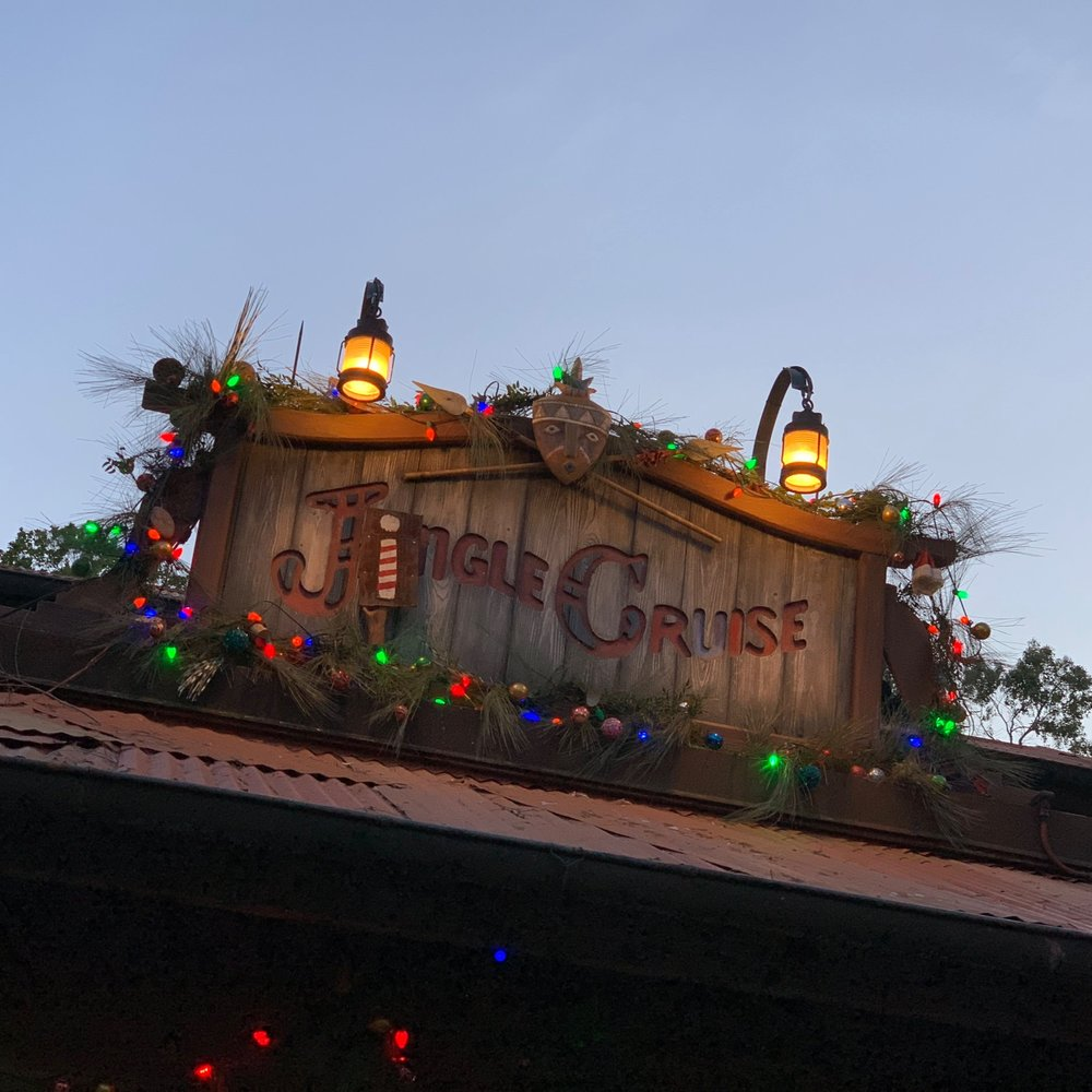 The festive Jingle cruise is a holiday must do!
