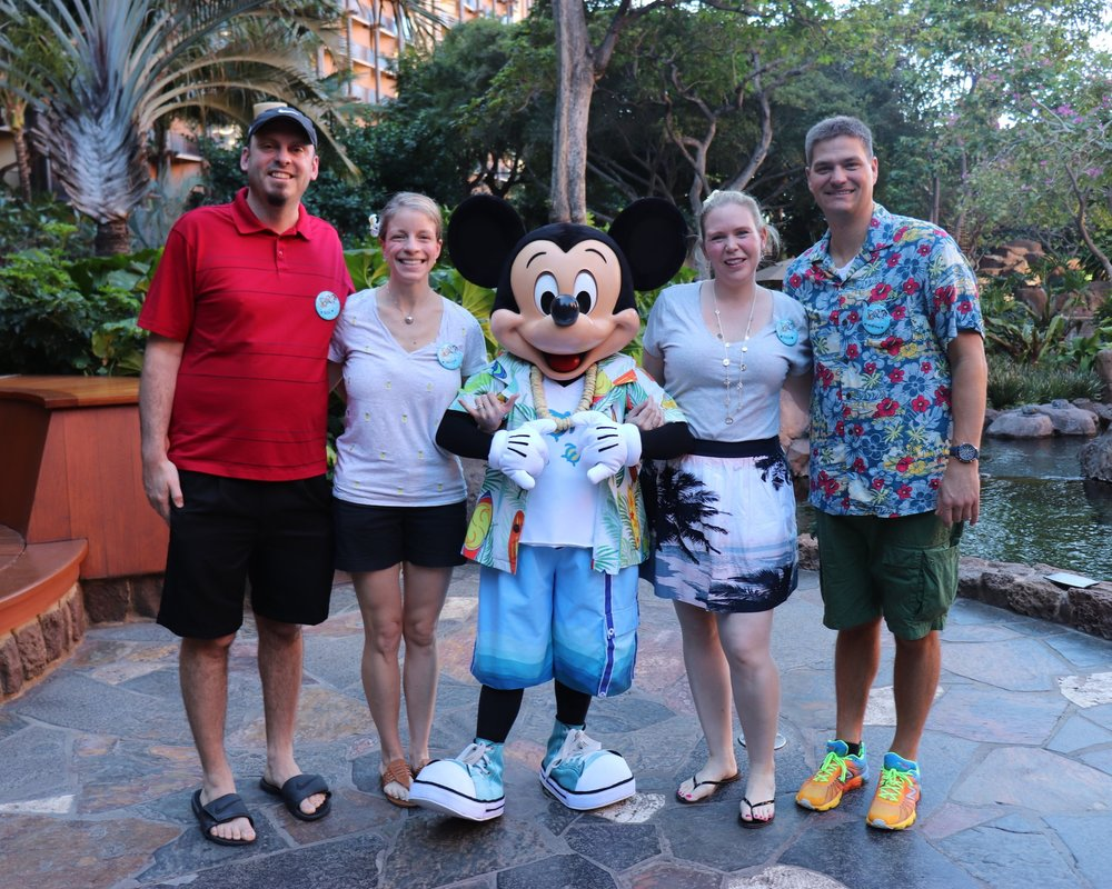 Some of our best friends Rich & Becky, we met on a Disney Cruise!